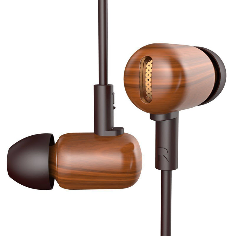 Dzat Df10 Wooden Wired Earphone (4)