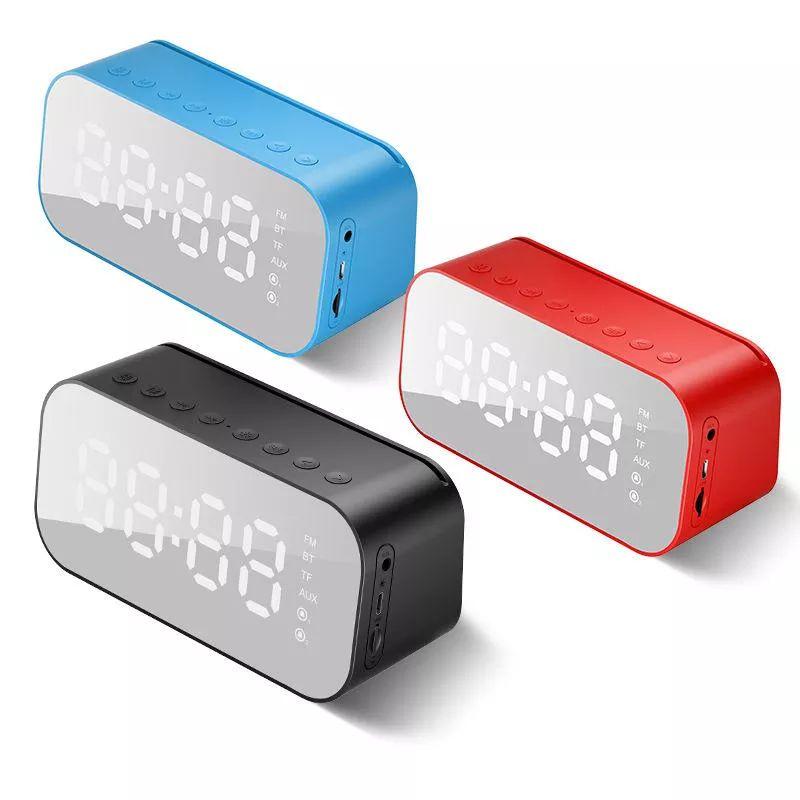 Havit M3 Wireless Bluetooth Speaker With Alarm Clock Radio (4)