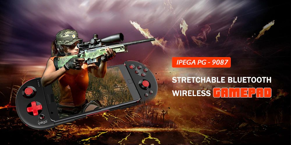 Ipega Pg 9087 Extendable Bluetooth Wireless Controller Gamepad Joystick For Ios Android Smartph (1)