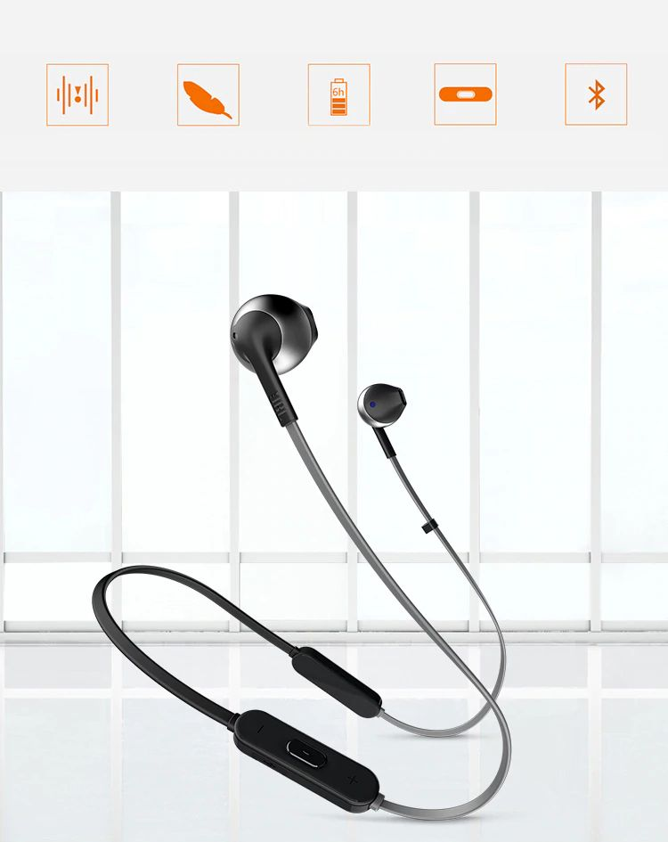Jbl Tune 205bt Wireless Bluetooth Earphone (3)