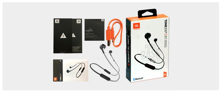 Jbl Tune 205bt Wireless Bluetooth Earphone (5)