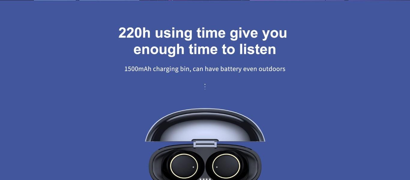 Joyroom Jr T05 Tws Bluetooth Earphones With Charging Box (8)