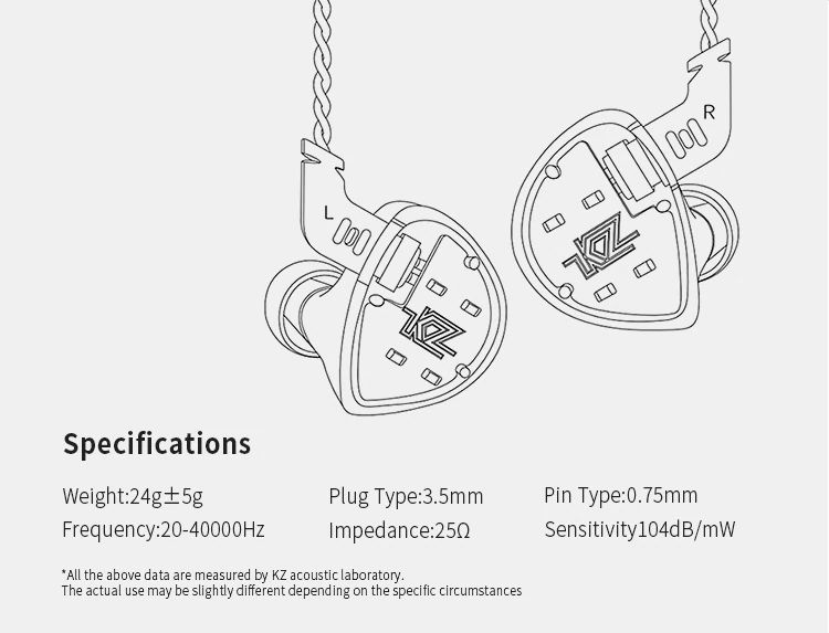 Kz Es4 Hybrid Hifi Dynamic In Ear Earphone (1)