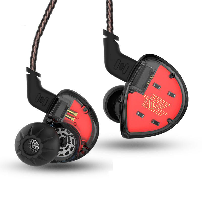 Kz Es4 Hybrid Hifi Dynamic In Ear Earphone (1)