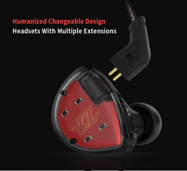 Kz Es4 Hybrid Hifi Dynamic In Ear Earphone (12)