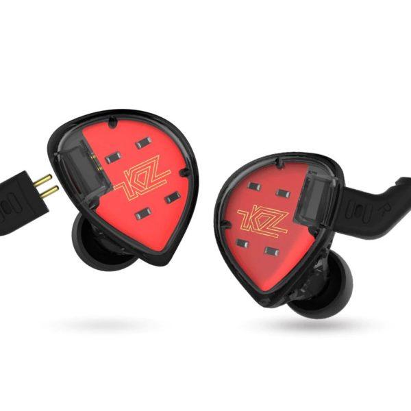 Kz Es4 Hybrid Hifi Dynamic In Ear Earphone (2)