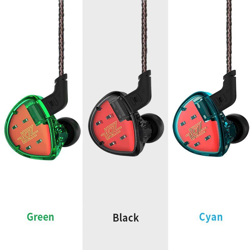 Kz Es4 Hybrid Hifi Dynamic In Ear Earphone (4)