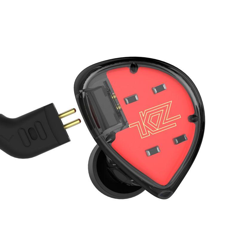Kz Es4 Hybrid Hifi Dynamic In Ear Earphone (5)