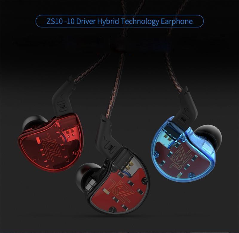 Kz Zs10 Hifi 10 Drivers Hybrid Earphone (1)