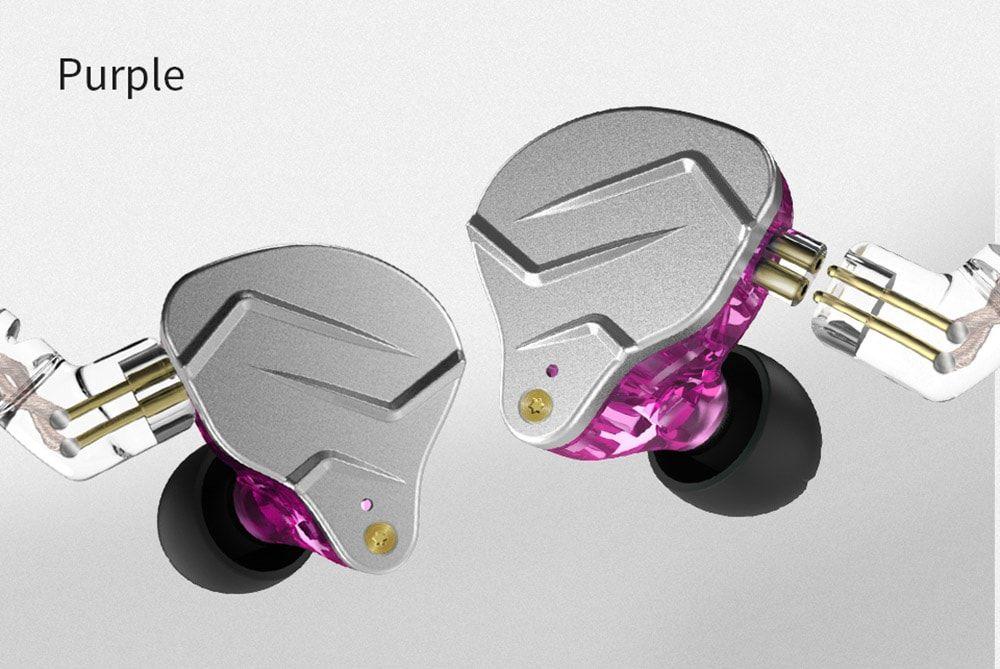 Kz Zsn Pro Hybrid Heavy Bass Earphones (10)