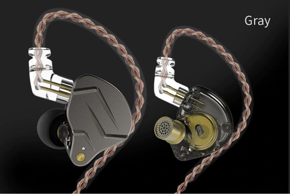 Kz Zsn Pro Hybrid Heavy Bass Earphones (11)