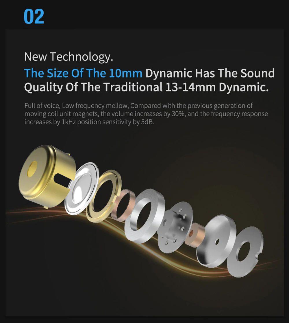 Kz Zsn Pro Hybrid Heavy Bass Earphones (15)
