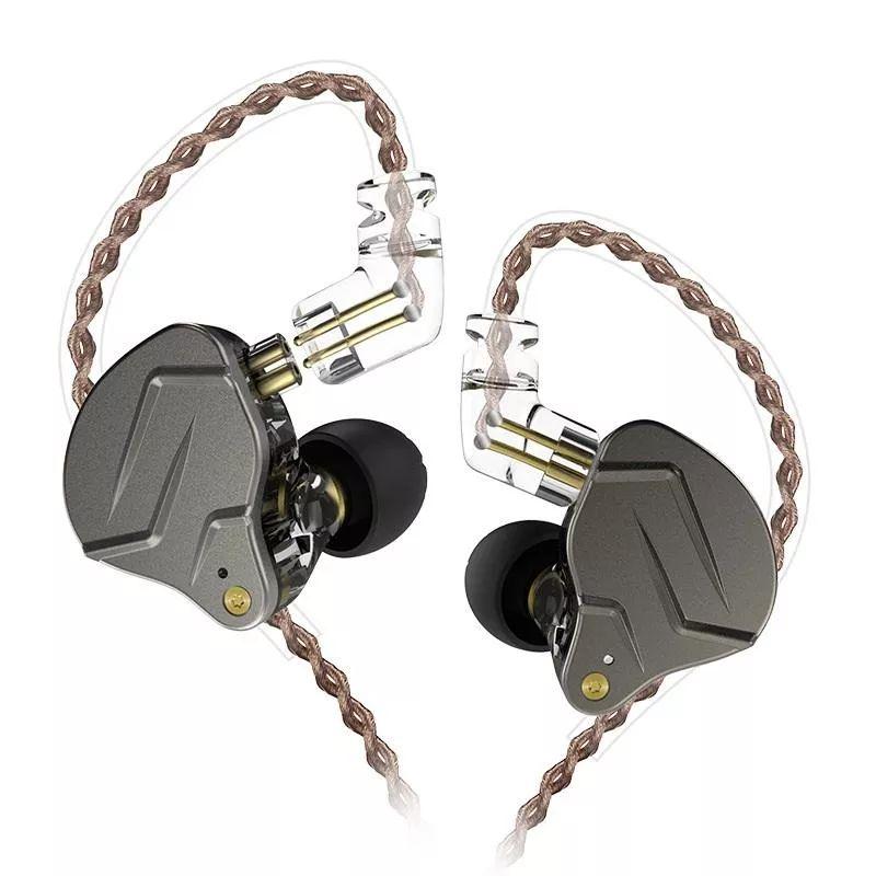 Kz Zsn Pro Hybrid Heavy Bass Earphones (7)