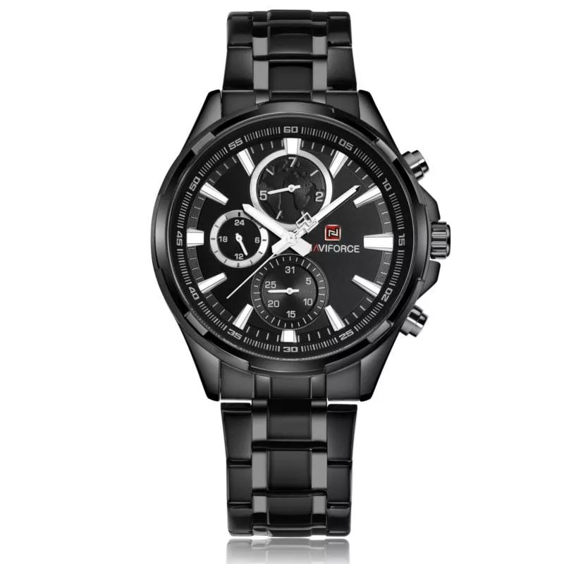 Naviforce 9089 Quartz Watch For Men (5)