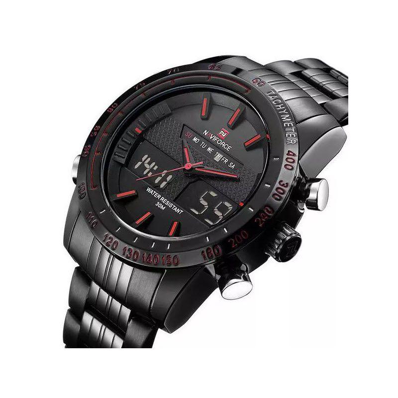 Naviforce Nf9024 Military Dual Display Wrist Watch For Men (2)