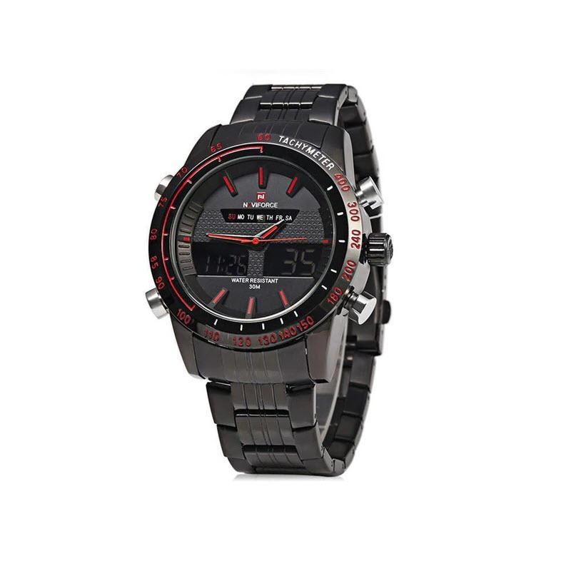 Naviforce Nf9024 Military Dual Display Wrist Watch For Men (3)