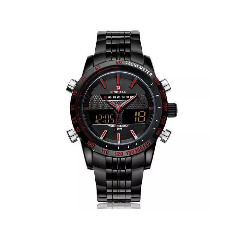 Naviforce Nf9024 Military Dual Display Wrist Watch For Men (4)