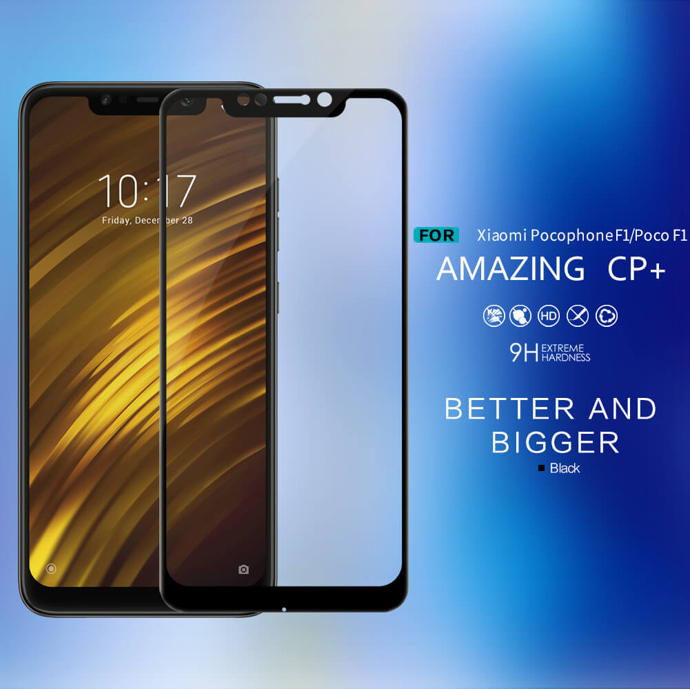 Nillkin Amazing Cp Tempered Glass Screen Protector For Xiaomi Pocophone F1 (1)