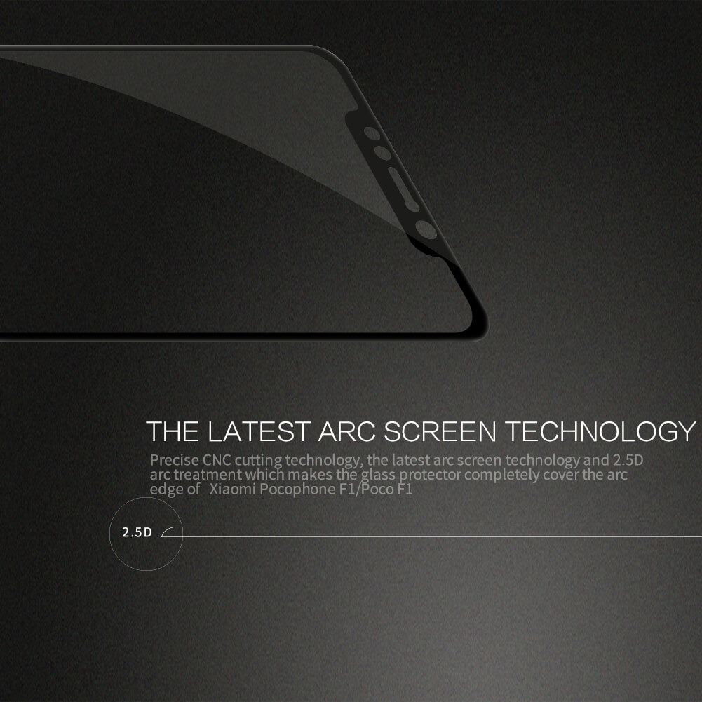 Nillkin Amazing Cp Tempered Glass Screen Protector For Xiaomi Pocophone F1 (4)