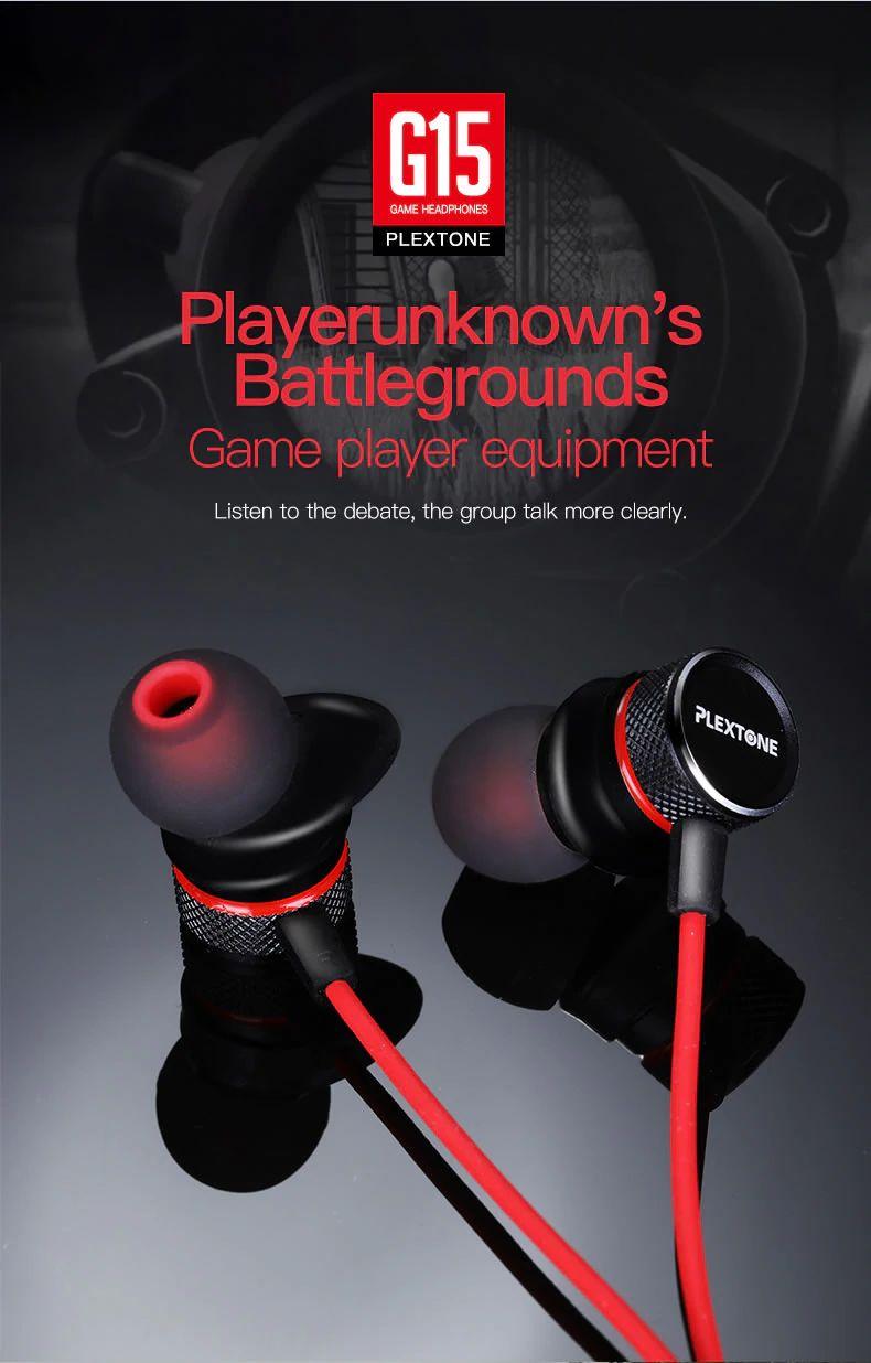 Plextone G15 Gaming Earphones With Mic (2) 1
