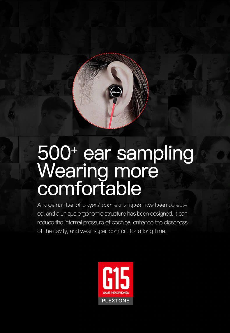 Plextone G15 Gaming Earphones With Mic (8)