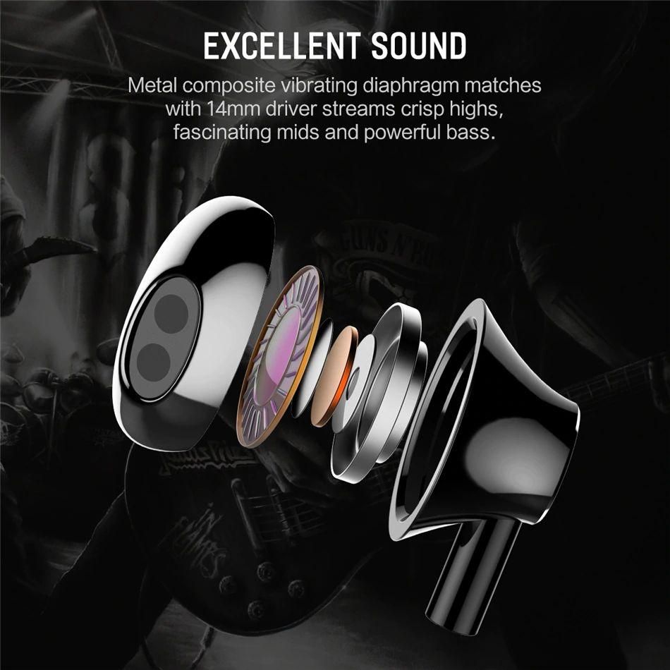 Rock Mufree H1 Stereo Earphone (10)
