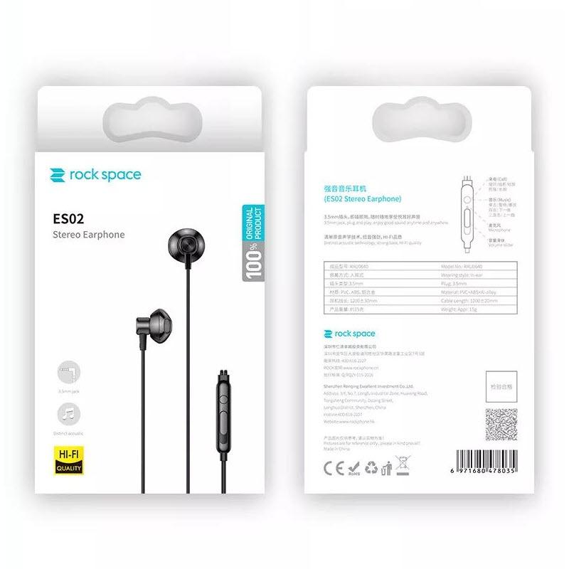 Rock Space Es02 In Ear Stereo Earphone (1)