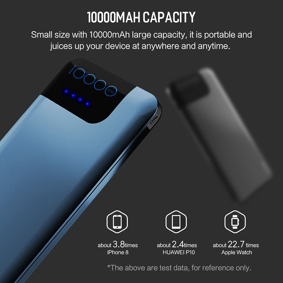 Rock Space P40 Qc3 0 Fast Charger 10000mah Power Bank (1)