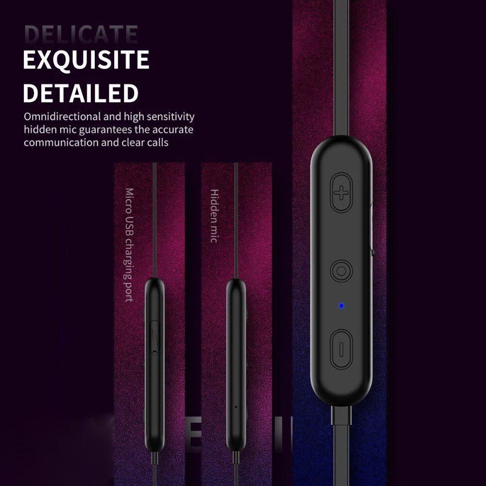 Rock W7 Mupreme Bluetooth Wireless Earphone (4)