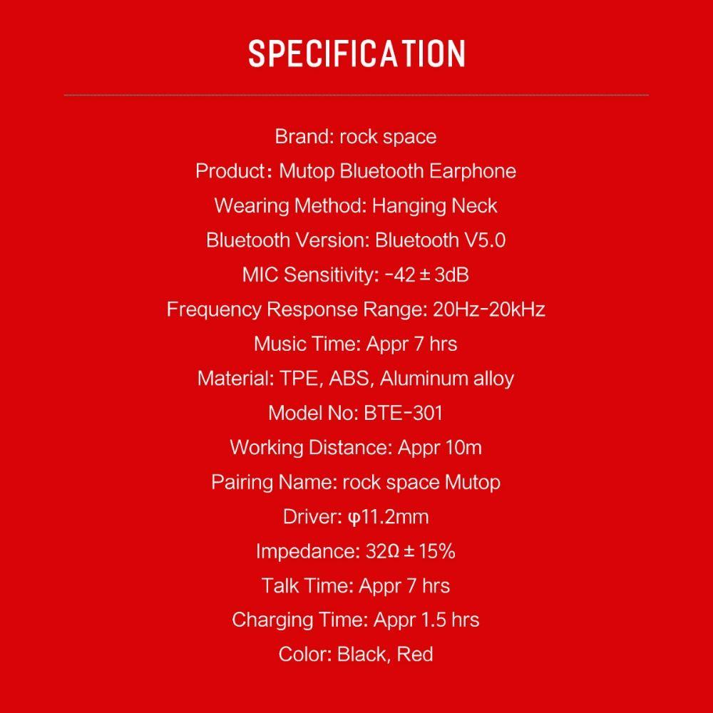 Rockspace Mutop Wireless Bluetooth V5 0 Headphones (5)