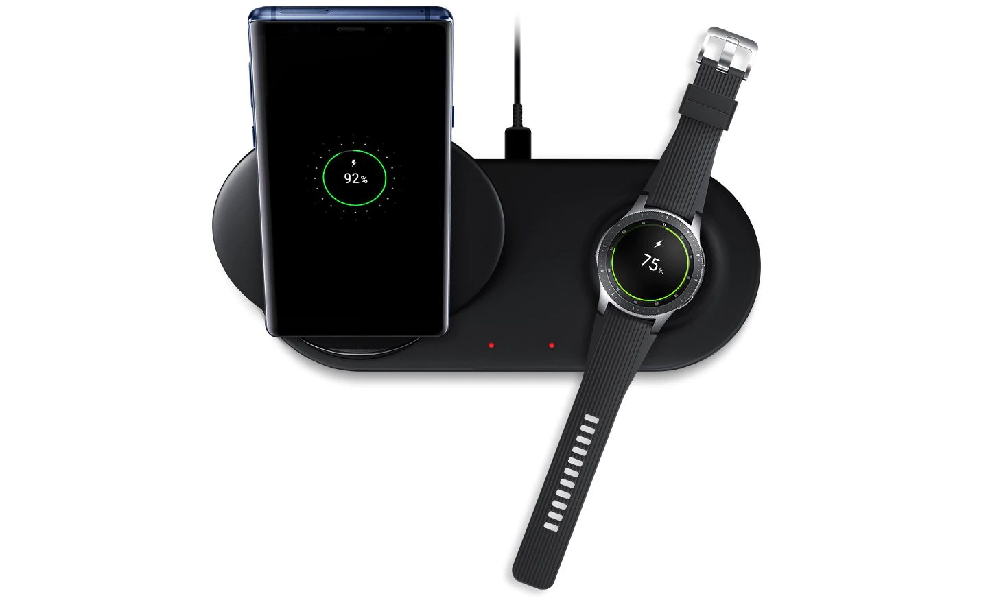 Samsung Wireless Charger Duo Fast Charge Stand Pad (2)
