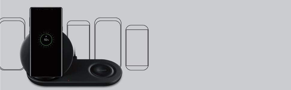 Samsung Wireless Charger Duo Fast Charge Stand Pad (5)