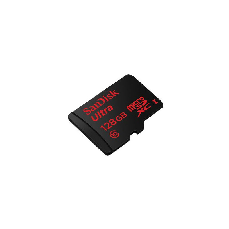 Sandisk 128gb Ultra Microsdxc Uhs I Class 10 Memory Card With Sd Adapter (1)