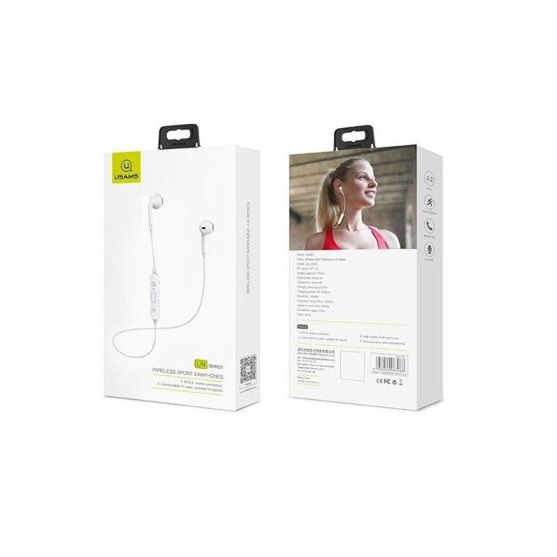 Usams Ln Series Bluetooth Sport In Ear Earphone With Mic (4)