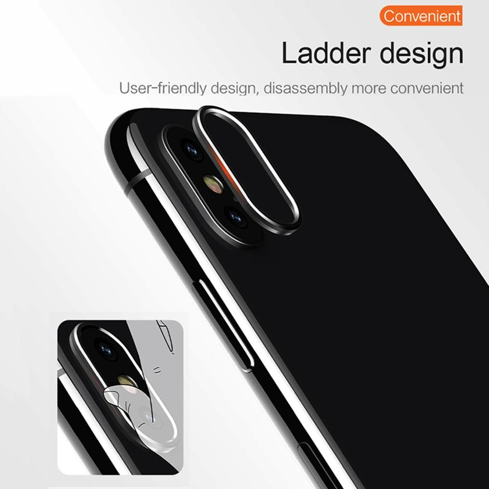 Usams Mobile Camera Lens Protective Ring For Iphone X (3)