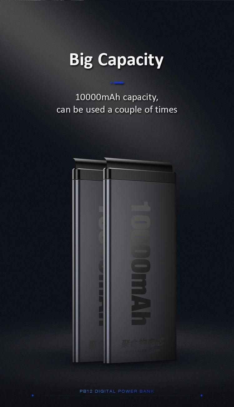 Usams Pb12 10000mah Led Display Power Bank (2)