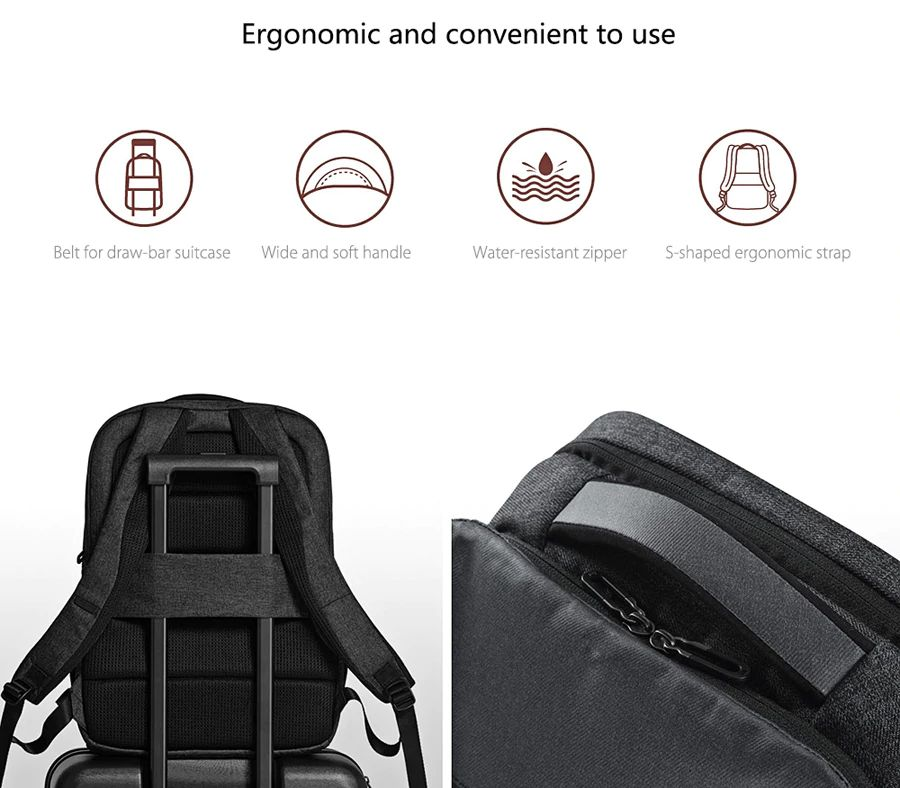 Xiaomi 26l Travel Business Laptop Backpack (7)