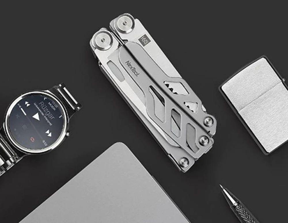 Xiaomi Huohou Multi Function Knife 15 Functions Folding Knife Bottle Opener Screwdriver Pliers (13)