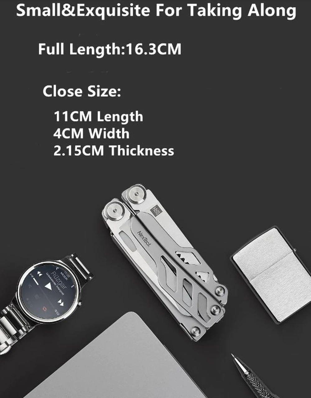 Xiaomi Huohou Multi Function Knife 15 Functions Folding Knife Bottle Opener Screwdriver Pliers (6)