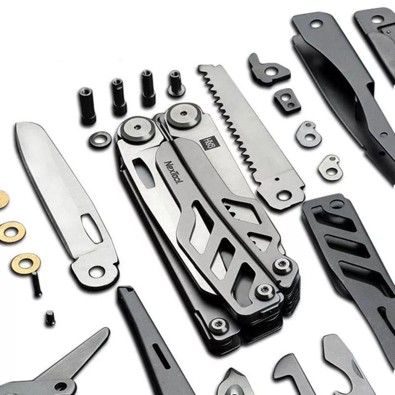 Xiaomi Huohou Multi Function Knife 15 Functions Folding Knife Bottle Opener Screwdriver Pliers (8)