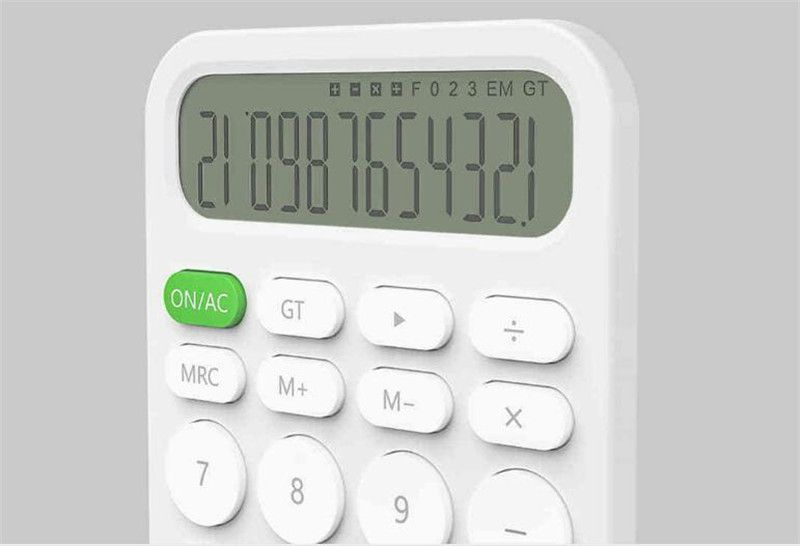 Xiaomi Miiiw 12 Digit Electronic Calculator For Office Work (5)