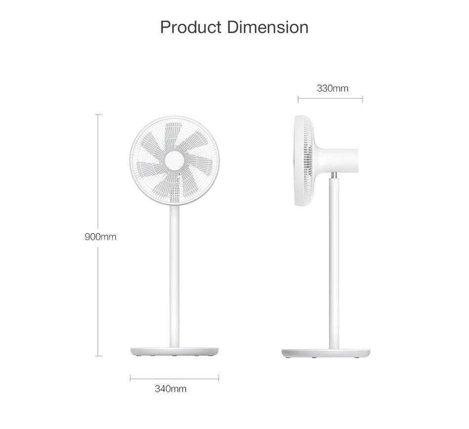 Xiaomi Smart Mi Stand Fan With App Remote Control (4)