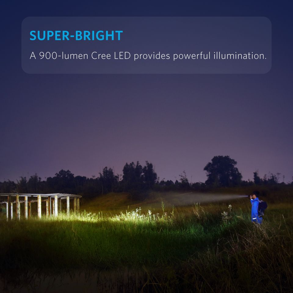 Anker Lc90 Flashlight Ip65 Water Resistant (5)