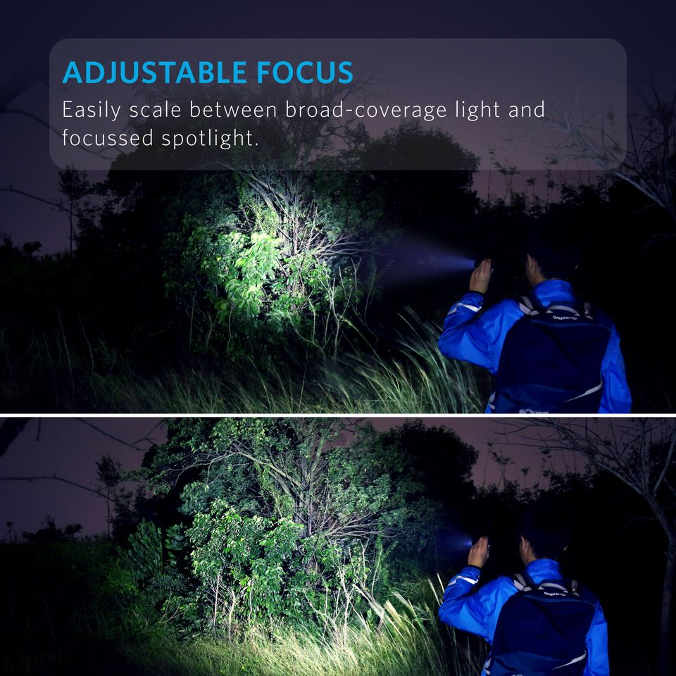 Anker Lc90 Flashlight Ip65 Water Resistant (7)
