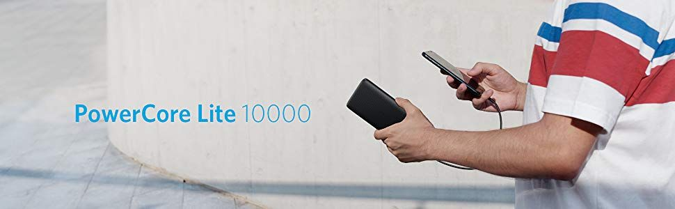 Anker Powercore Lite 10000mah Usb C Input Power Bank (2)