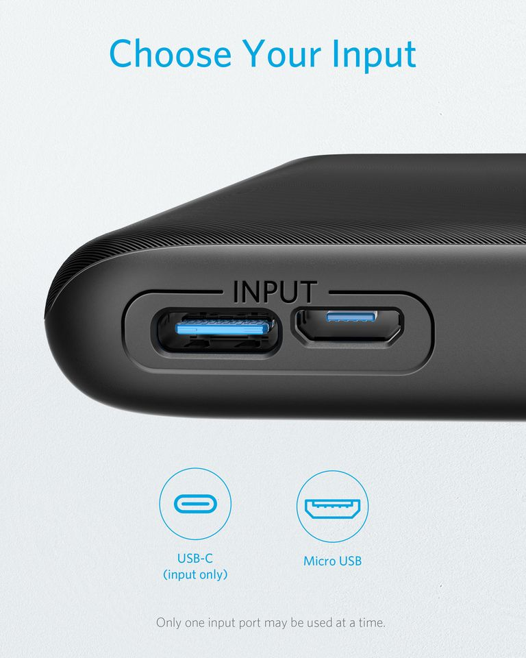 Anker Powercore Lite 10000mah Usb C Input Power Bank (8)