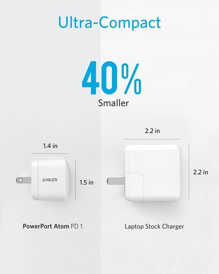 Anker Powerport Atom Pd 1 Usb C Charger Gan Technology (5)