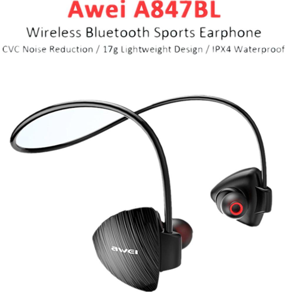 Awei A847bl Wireless Sweatproof Bluetooth Neckband (11)