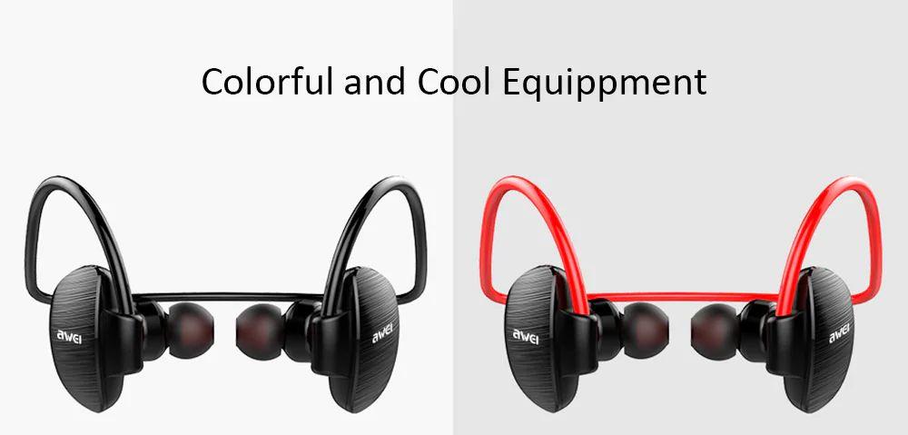 Awei A847bl Wireless Sweatproof Bluetooth Neckband (5)