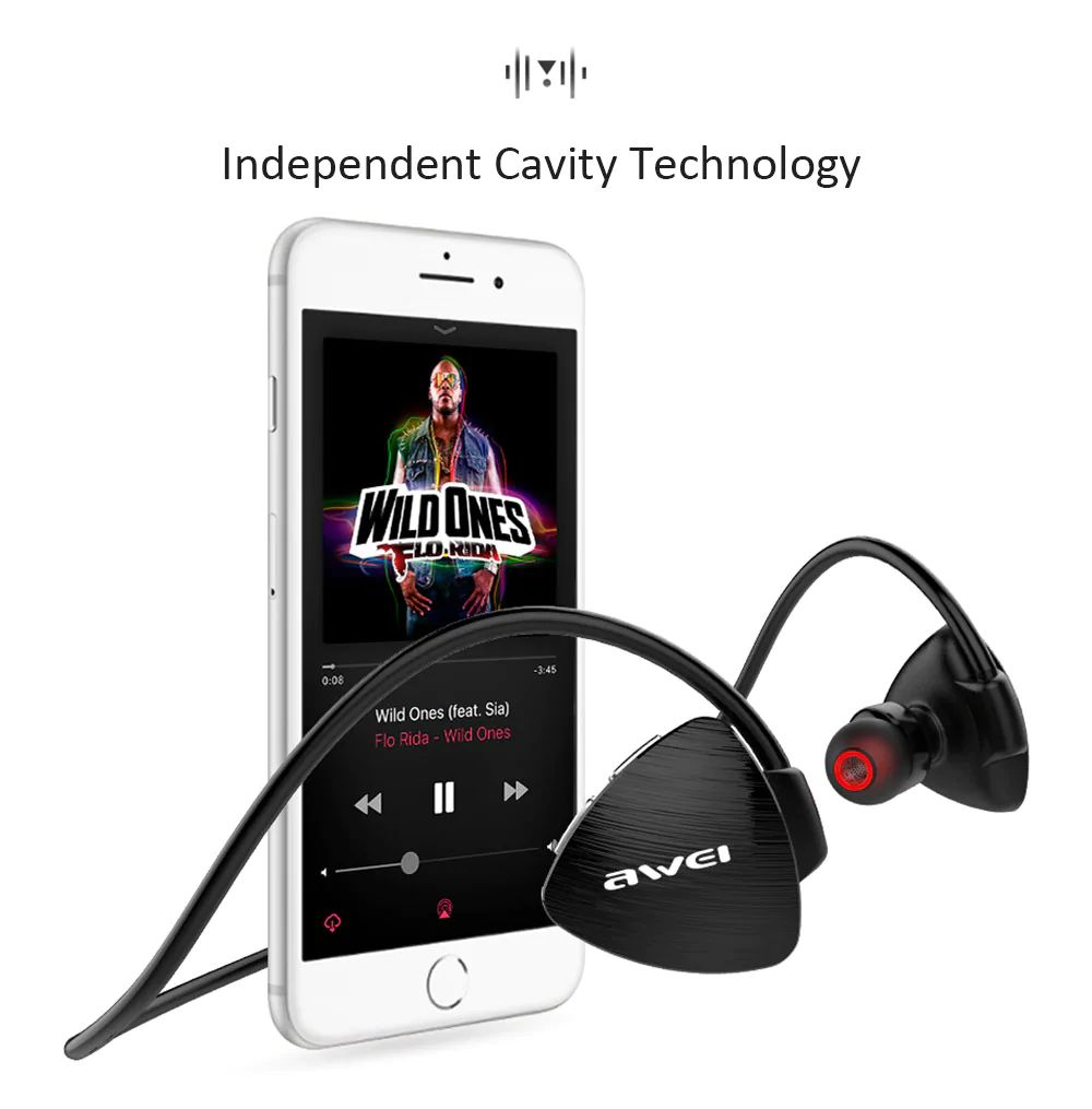 Awei A847bl Wireless Sweatproof Bluetooth Neckband (8)